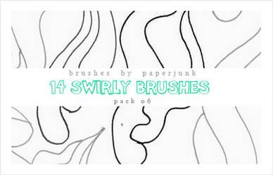 Brushes Pack 06: Swirls