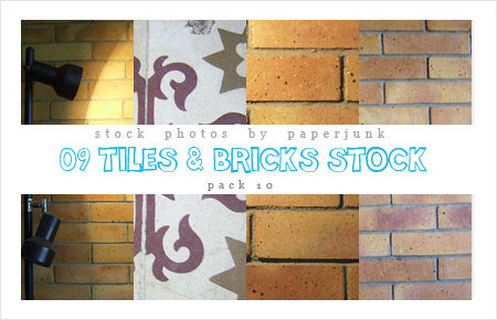 Stock Pack 10: Tile And Bricks