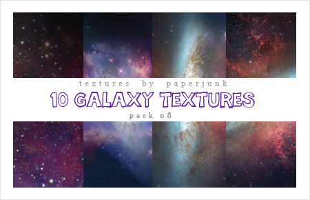 Textures Pack 09: Galaxy