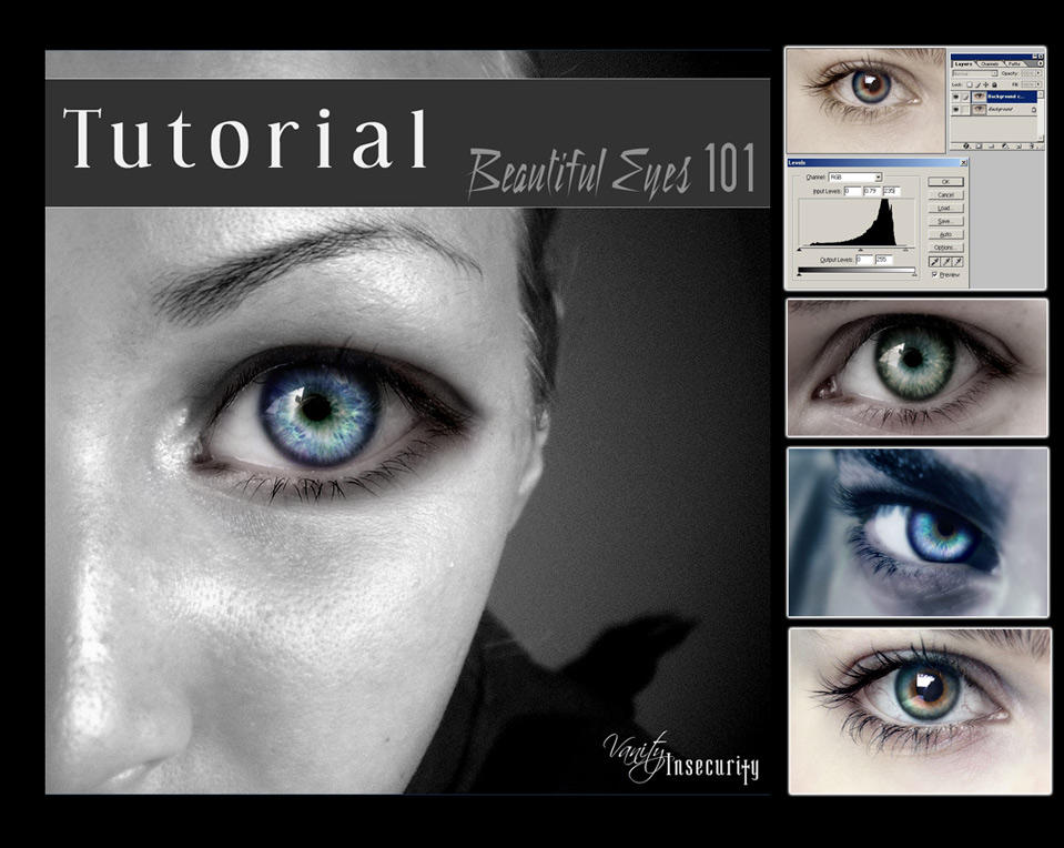 Tutorial: Beautiful Eyes 101 by vanity-insecurity