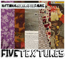 Pack 1: Geographic Fabric by calliopemused