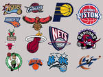 NBA Eastern Conference Icons