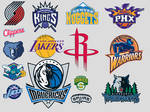 NBA Western Conference Icons
