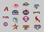 MLB National League Dock Icons