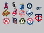 MLB American League Dock Icons