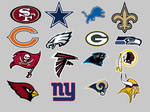 NFL NFC Conference Dock Icons