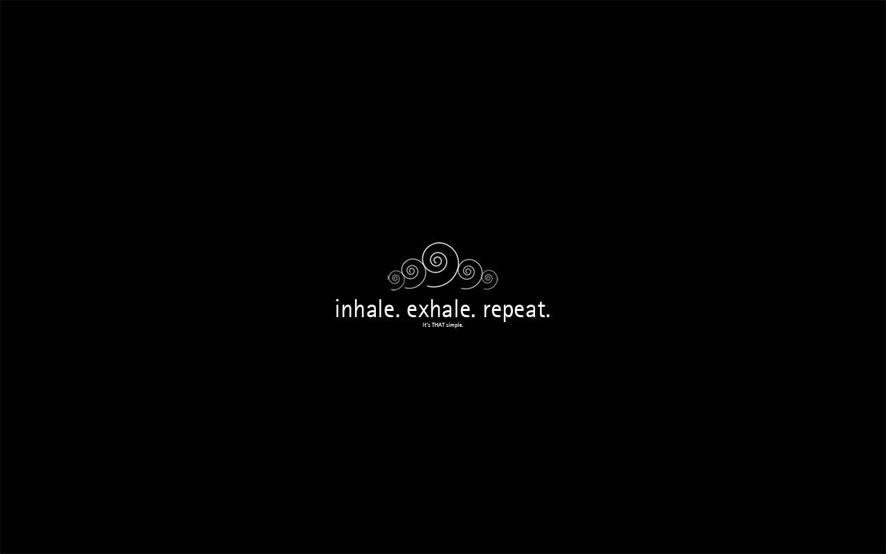don't forget to breathe by mijka