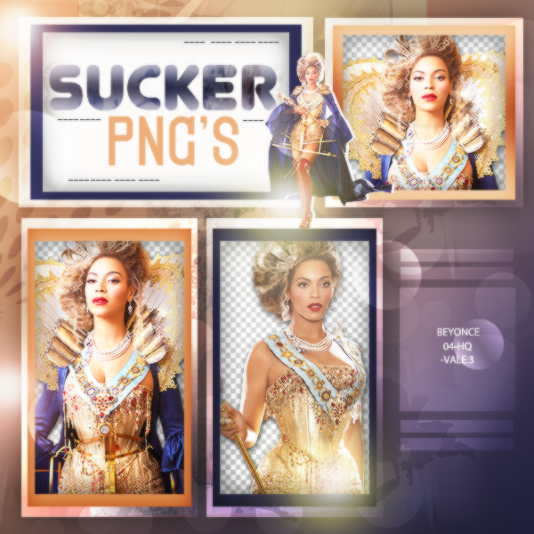 Pack PNG de Beyonce by iLightWonderful