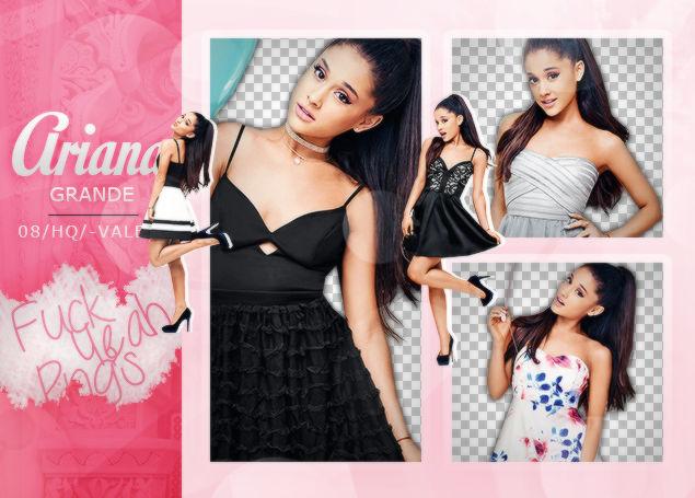 Pack PNG de Ariana Grande.