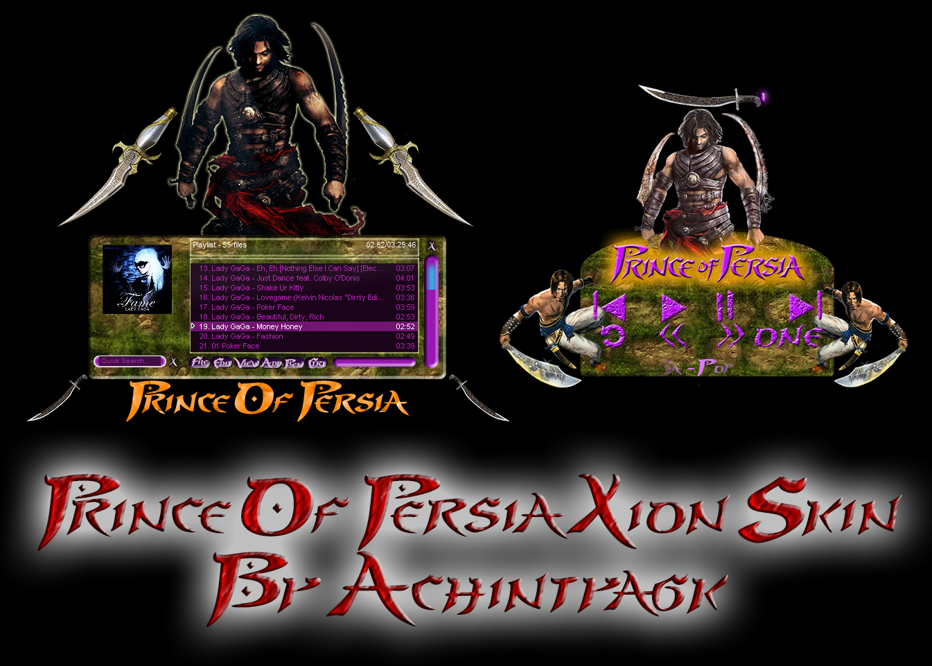 Prince Of Persia Xion Skin by achintyagk