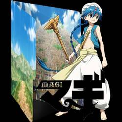 Magi (Series) Folder Icon V1 by alexartchanimte7 on DeviantArt