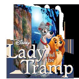Lady And The Tramp Folder Icon V1 By Alexartchanimte7 On Deviantart