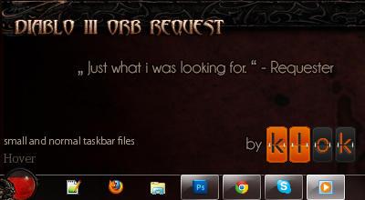 Diablo III Win7 Orb by UltraNoire
