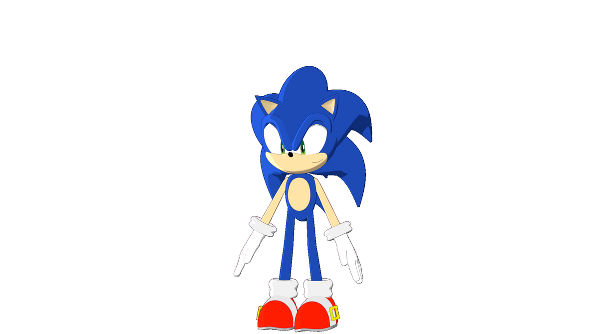 Sonic- Next Generation modeling by TheJudgeX on DeviantArt