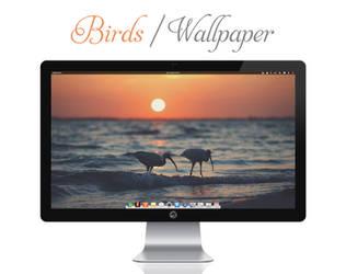 Birds Wallpaper by bokehlicia