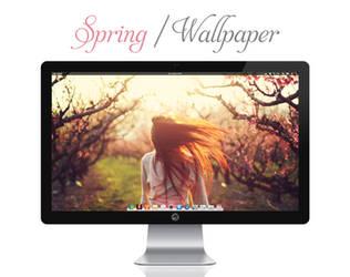 Spring Wallpaper by bokehlicia