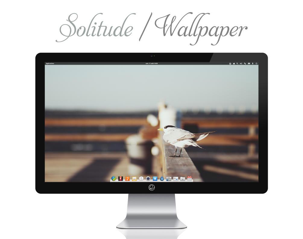 Solitude Wallpaper by bokehlicia