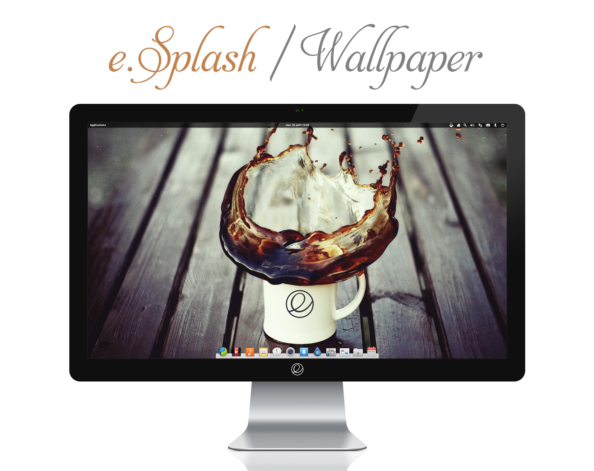 e.Splash Wallpaper by bokehlicia