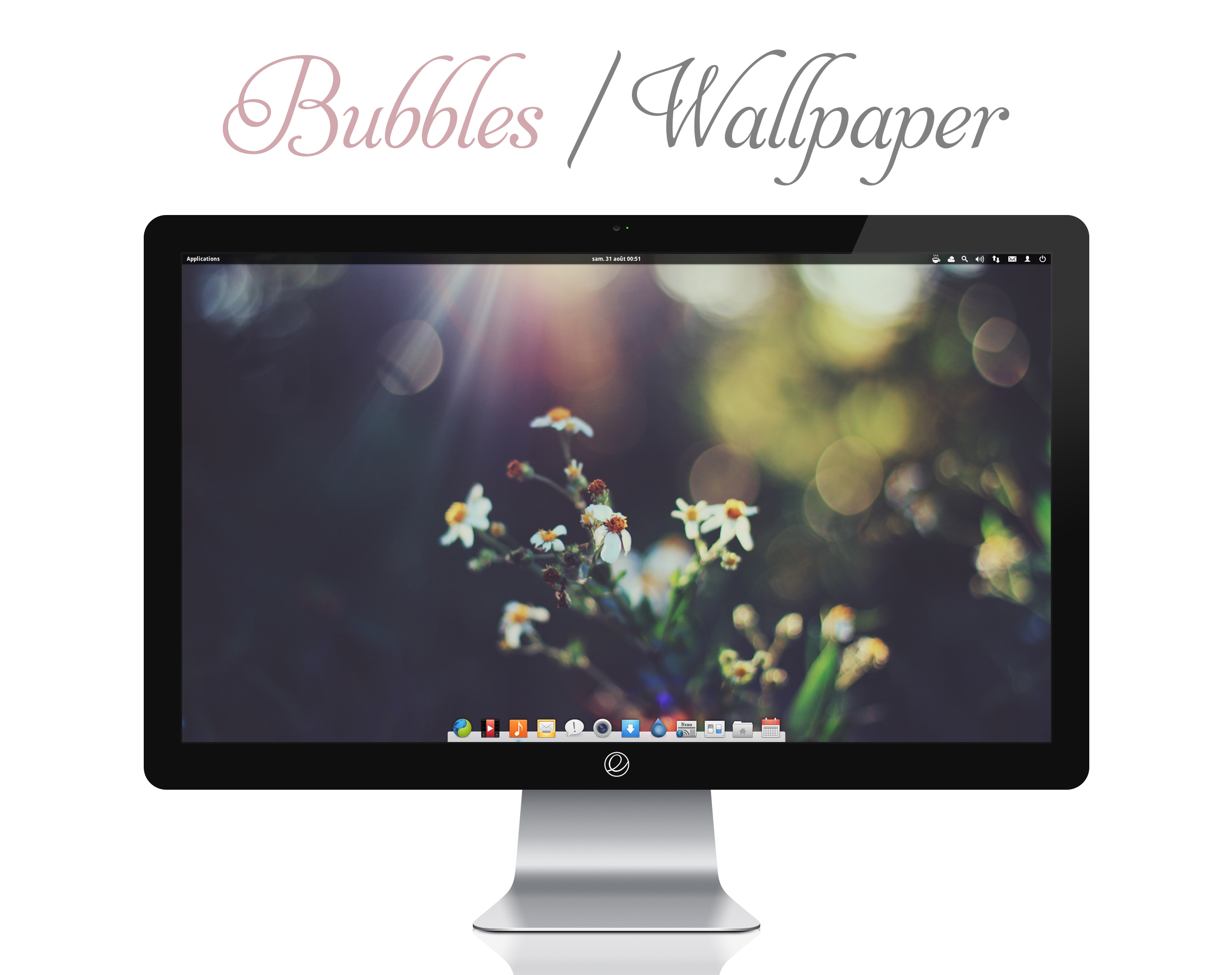 Bubbles Wallpaper by bokehlicia