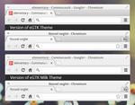 eGTK Milk Theme for Chrome