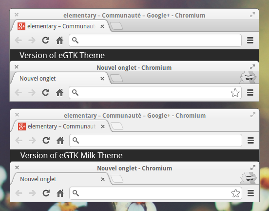 eGTK Milk Theme for Chrome by bokehlicia