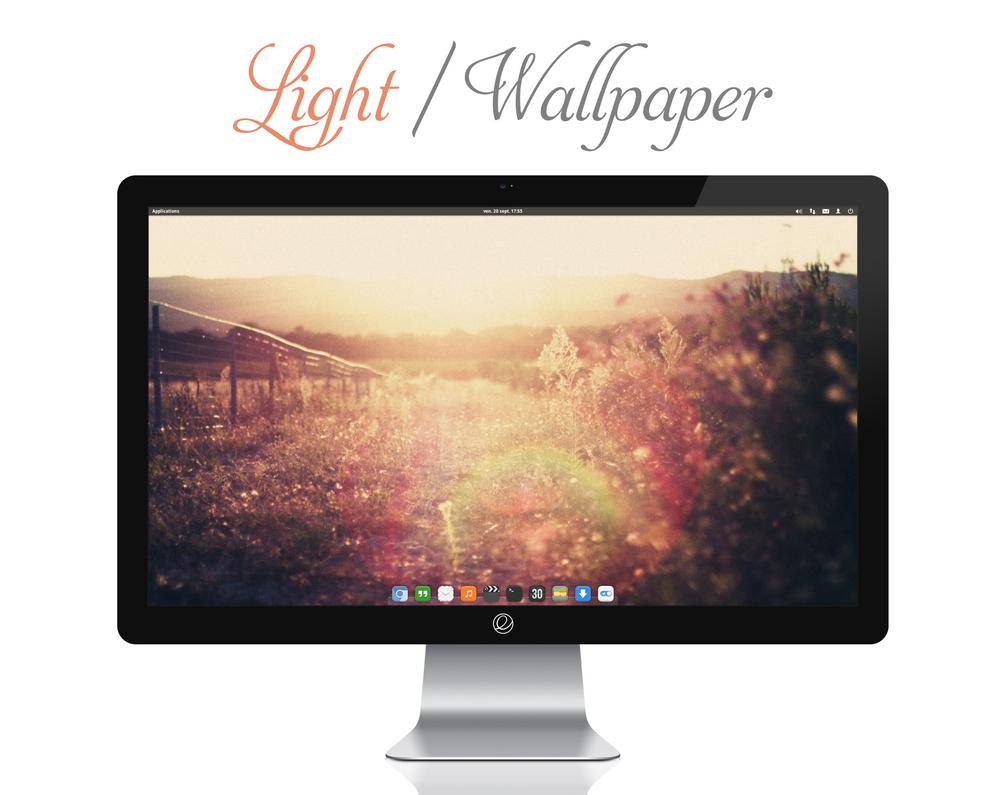 Light Wallpaper by bokehlicia