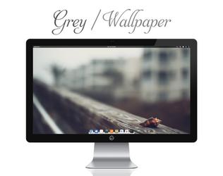 Grey Wallpaper by bokehlicia