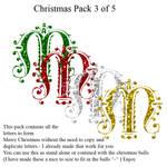 Christmas pack 3 of 5 - Letter