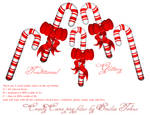 Candy Canes Christmas stock
