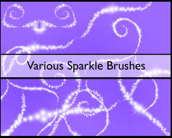 .::+Sparkle Brushes no.1+::. by Rogue-Stock