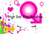 high def emo brushes