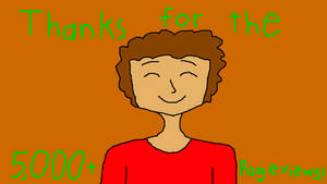Thanks for the 5,000+ pageviews!!!