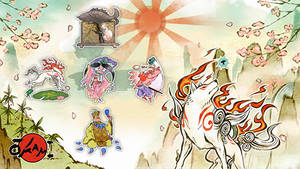 Okami Characters Icon Pack