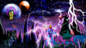 Masters Of The Universe: Skeletor PSD