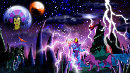 Masters Of The Universe: Skeletor PSD by uLtRaMa6nEt1cART