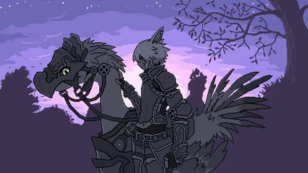 Twilight over Thanalan Redux (animated)