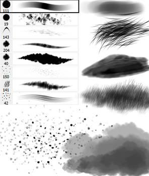 Random brushes