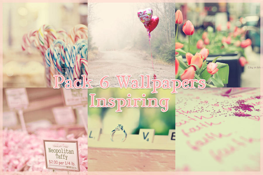 Pack 6 Wallpapers Inspiring by LizTutos