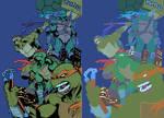 Turtles   Inks By Nanquilizador-d4mrqeu Vic55b Fla