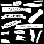 TexturePack #015 - PaperCuts for GraphicEngaged