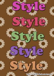 My 1st style by Suki95