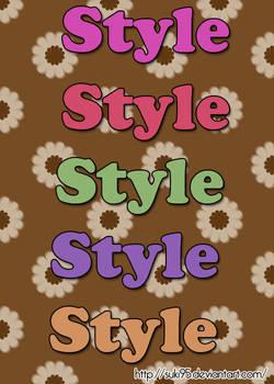 My 1st style