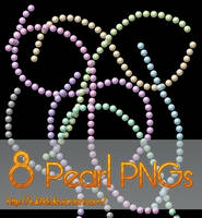 8 Pearl PNGs by Suki95