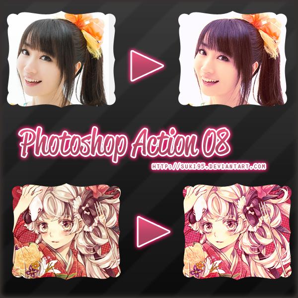 Photoshop Action 08 by Suki95