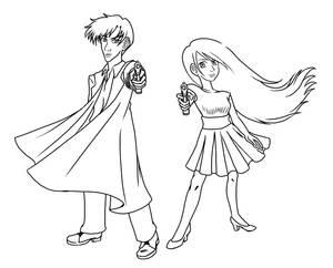 Skye and Tetsuya