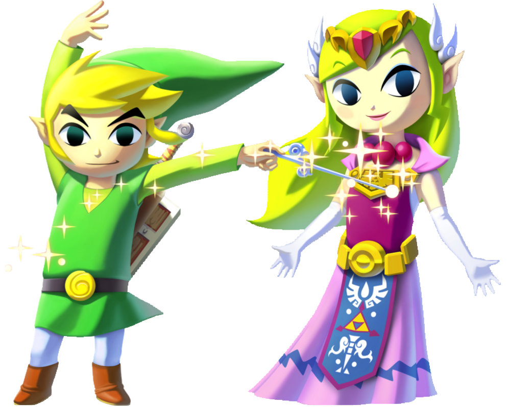 Sacred Instruments: Toon Link and Zelda TF/TG/AR by ...