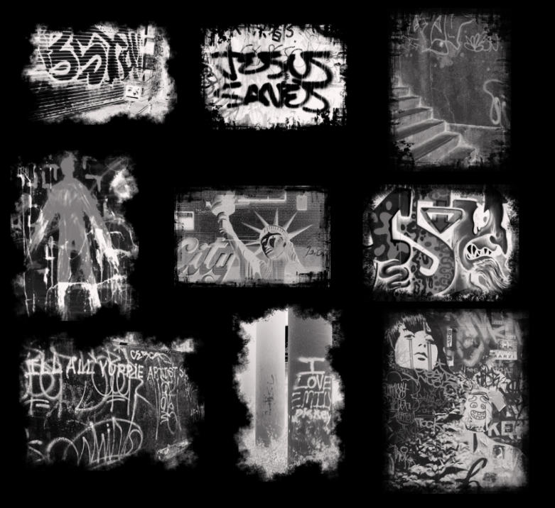 Graffiti Brushes by midnightstouch