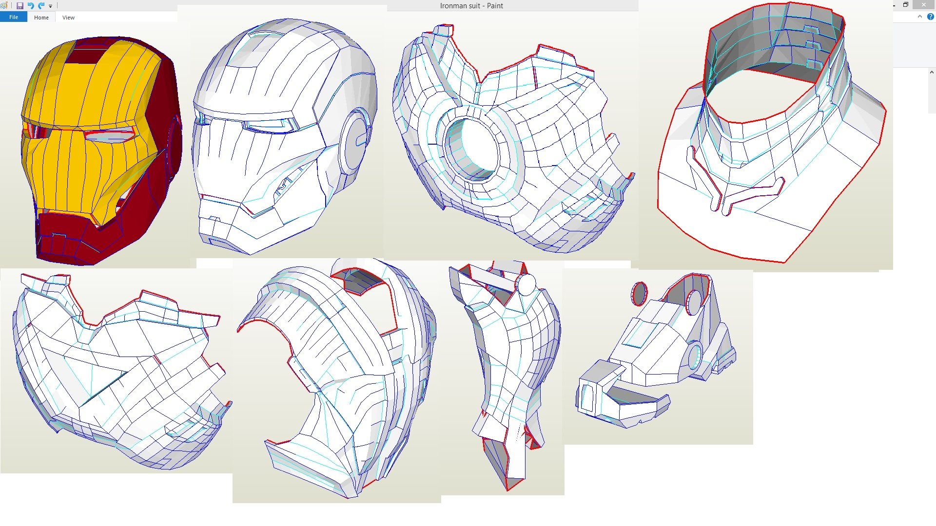 iron man suit template - iron man suit collection by houay2005 on deviantart