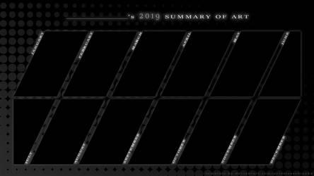Shizu's 2019 Summary of Art Template