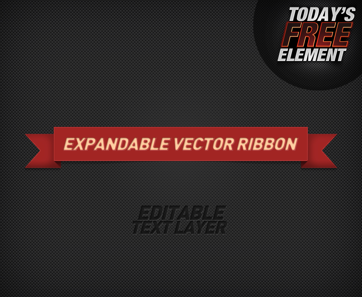 Editable, expandable Ribbon
